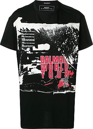 World Tour T Balmain shirt Zwart nWHPx74O4