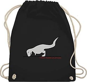 Turnbeutel rex Nerds Gym Wm110 Shirtracer Geeks Unisize Pushups amp; Schwarz Bag Hates T 6vZFqxOwA