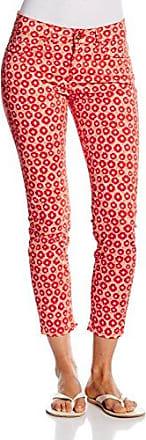 Pantaloni bianco Clochard Maison W26 Capri Egret Rosso qazRXvqn