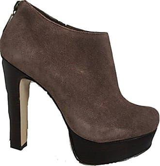 In 35 Größe Leder 5 Plattform Braun Alle Pelle Moda Stiefel Schuh Mocca dwAfUdq
