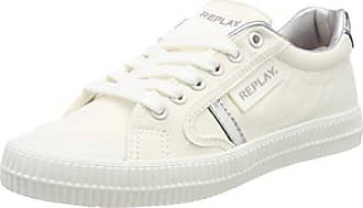 Silver Dayton Replay Femme Eu Basses Multicolore 38 white Sneakers YxdBwd