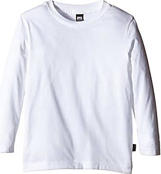 Camiseta Trigema Talla 100 140 Mädchen Blanco Baumwolle Niñas Langarm Shirt Color wppTq7UH