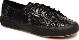 2750 Superga Damen Syn Schwarz W Sneaker Snake Für Brushed drrqwTP0
