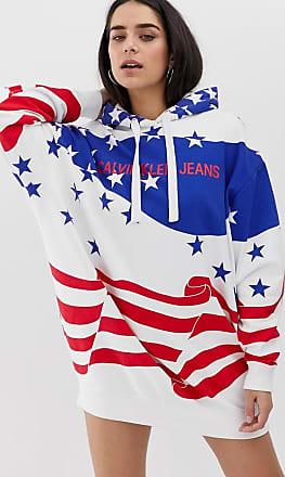 Sudadera Jeans Capucha De Klein Calvin Americana Con ZAxEE6