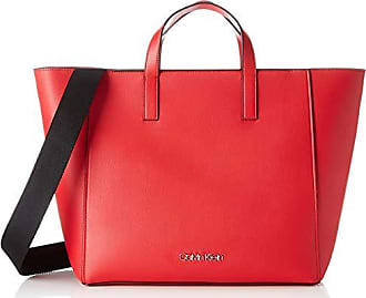 lipstick 5x31x41 Cm Shopper Klein Strap b Calvin Bolsos T Mujer H Totes Red 15 X Rojo pH0Cwvwxcq