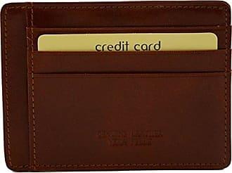 In Leather Lederwaren Leder Made Echtes Fächer Bags 9 Zubehör Dream Kartenhalter Braun Italienische Italy Farbe wqWt1ZOOd