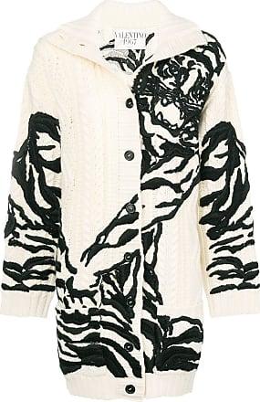 Imprimé Blanc Valentino Valentino Cardigan Cardigan pqB6wS1