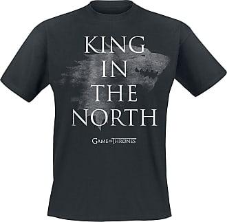 shirt StarkKing The Game Schwarz North T Of In Thrones DYH2IeWE9