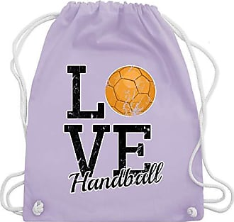 Lila Shirtracer Pastell Bag Gym HandballLove Unisize Turnbeutelamp; Wm110 BCdexo