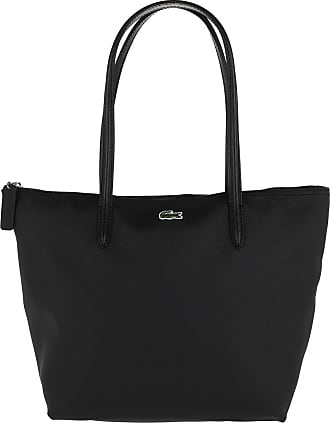 Bag Shopper Lacoste Shopping Black S Schwarz wSIxE4