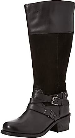 black A 37 Joe Ultimate Strap Boots Noir Browns Eu Femme Leather Bottes r44zwx7v8q