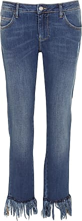 Reiko Cropped Taille Jean Droit Normale OT6OvBqp
