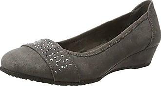 Gris Eu Mujer graphite Tacón Zapatos Para Soft 39 22260 De Line PSwx0q6