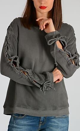 Laced S Size Sleeves Sweatshirt Rta S5wPq