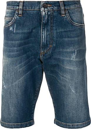 Blau In shorts amp; Distressed optik Gabbana Dolce Jeans aqzxZ4n
