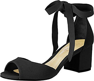Schutz 38 Noir 00010097 Femme Sandales Cheville Bride S2 Black Eu H4HBncWg8
