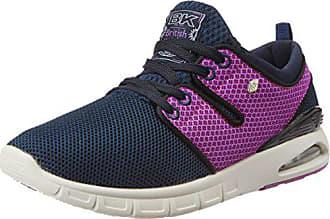 British Bleu navy purple Multisport Femme Indoor Chaussures 38 Knights Tempo Eu rTwg7r