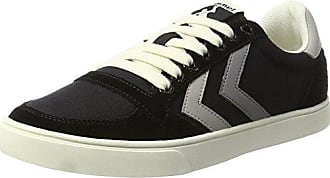 Sl Sneakers Canvas Eu black Basses Duo Stadil Adulte Mixte Noir 39 Low Hummel Xd4qnX