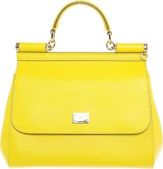 Gelb Gabbana Damen Medium Sicily Dolce amp; Leder Miss Gebraucht xC0qw0z6S