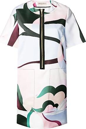 Emilio Front Dress T shirt Pucci Rose Zip PUwqr7P