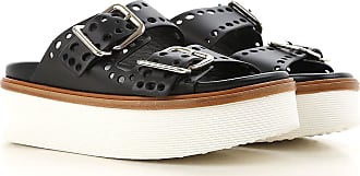 Sale 36 Sandals 37 39 2017 Black 35 5 35 38 37 Leather Women 5 On Tod's For 5 40 38 4pnwdICIq