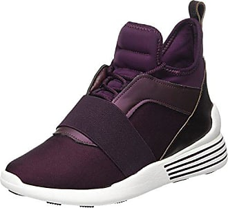 Purple Kylie Kendall Basses Femme Violet Kkbraydin3 Sneakers Eggplant 39 dark Eu Pqq0awAO