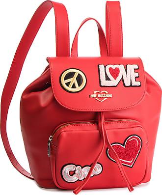Love Rosso Love Jc4082pp17lj0500 Moschino Moschino Mochila 8rxY8z