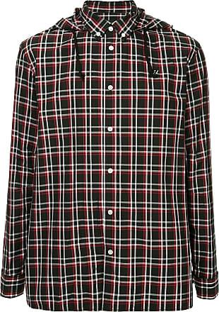 Capuchon Shirt Met Zwart Undercover Geruit fzqPBB