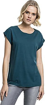 T Turquoise 1143 Tee Urban Ladies Extended Classics teal Shirt Shoulder Femme FXcwUOcq4