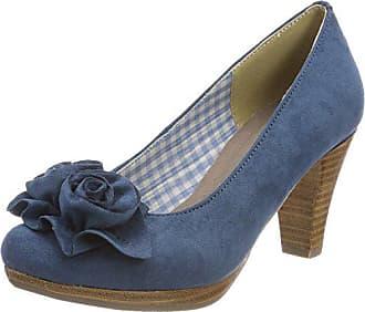 Zapatos Cerrada Pantalon Eu Hirschkogel Para jeans 3000518 Punta 41 Tacón Con De Mujer Mezclilla BxTUxY