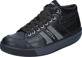 By689 Noir Cuir Sneakers Femme Chaussures Activate Mbt q87gTZn