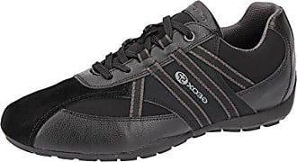Schnürhalbschuh Sneaker Atmungsaktiv U743fb Schwarz Ravex Eu Innensohle black Sportlicher Freizeitschuh Uomo Herausnehmbare 45 Herren Geox qw1UYF