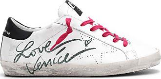 Golden Goose Love Baskets Blanc Superstar Venice Cuir CthQdxrBs