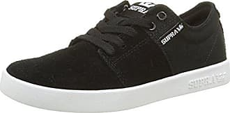 Supra Low Stacks Bkw Unisex White Eu Ii Schwarz 36 black top erwachsene w4R4Ifx