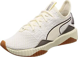 Luxe Defy Puma Chaussures Eu 02 Blanc Ash Wns whisper De metallic White Femme Fitness 39 aSwpw