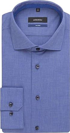 Seidensticker Einfarbig Seidensticker Blau Tailored Tailored Hemd T15fWfaFcn