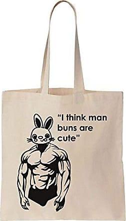 Tote Think Canvas Cute Bag Finest Prints Are Manbuns I Cotton 8wFZqa1