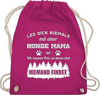 Niemals Hunde Gym Bag amp; Dich An Shirtracer Turnbeutel Einer Mama Mit Fuchsia Leg Wm110 Unisize wtZxBRp