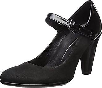 Shape Ecco Escarpins 75 Eu Black Noir Round 38 Femme Elegant px7Tx