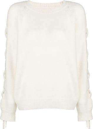 Up Blanc Iro Jumper Sleeve Lace qx5p5nZ