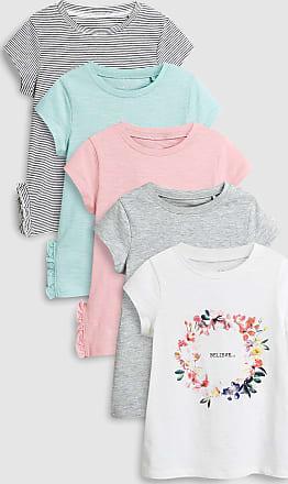 Teilig Rosa Floral shirts T Im Next 5 Fünferpack TFXwwq
