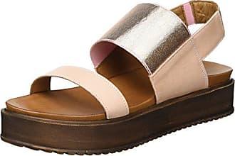 Mujer 40 De Zapatos Color Inuovo 7128 Talla Rosa Tacón nWCxInF