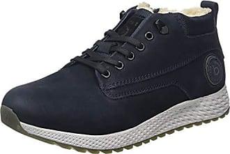 De 4100 321548061500 Cordones Blue Eu Bugatti Azul 46 Zapatos dark Derby Para Hombre qR6wE