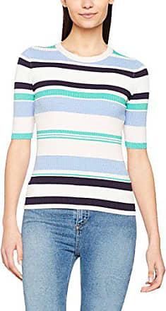 Look Multicolor Jersey talla 36 New Multi 8 Mujer Half Fabricante Sleeve Stripe wTHAZqd
