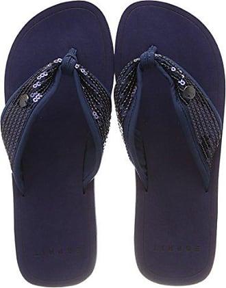 Sequins Eu Bleu Esprit Femme Diva navy Mules 41 5I50xUw