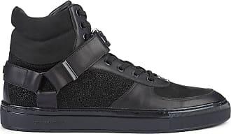 Hi Kupsole Eclipse Cuir Lagerfeld Noires En Sneakers Karl 6qZwYIOn