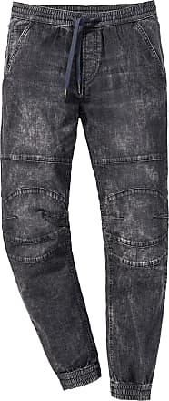 Von Slim Fit In Bonprix Schwarz jeans Straight Schlupf NX0Pkn8wO
