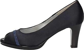 À Chaussures Soffice Sogno Femme Bleu Talon E8096 xOztqH