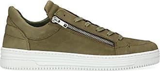 Herren Schuhe Leder Sneaker Sacha Low Grün wnxU5g