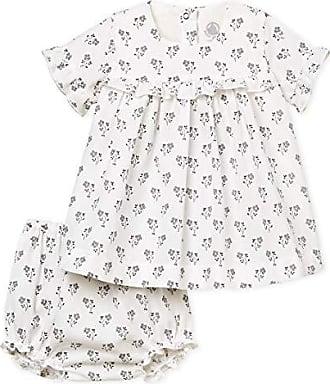 01 Petit multico Para Vestido Bateau Babe tamaño Del Bebés marshmallow Fabricante 1m 56 rx1qr0Yn